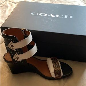Brand new Coach Odessa Wdg size 5.5B